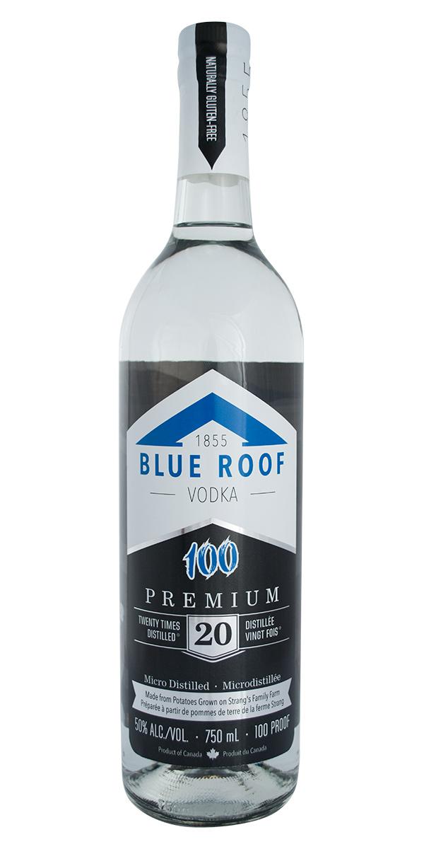 Blue Roof 100 Vodka Blue Roof Distillers
